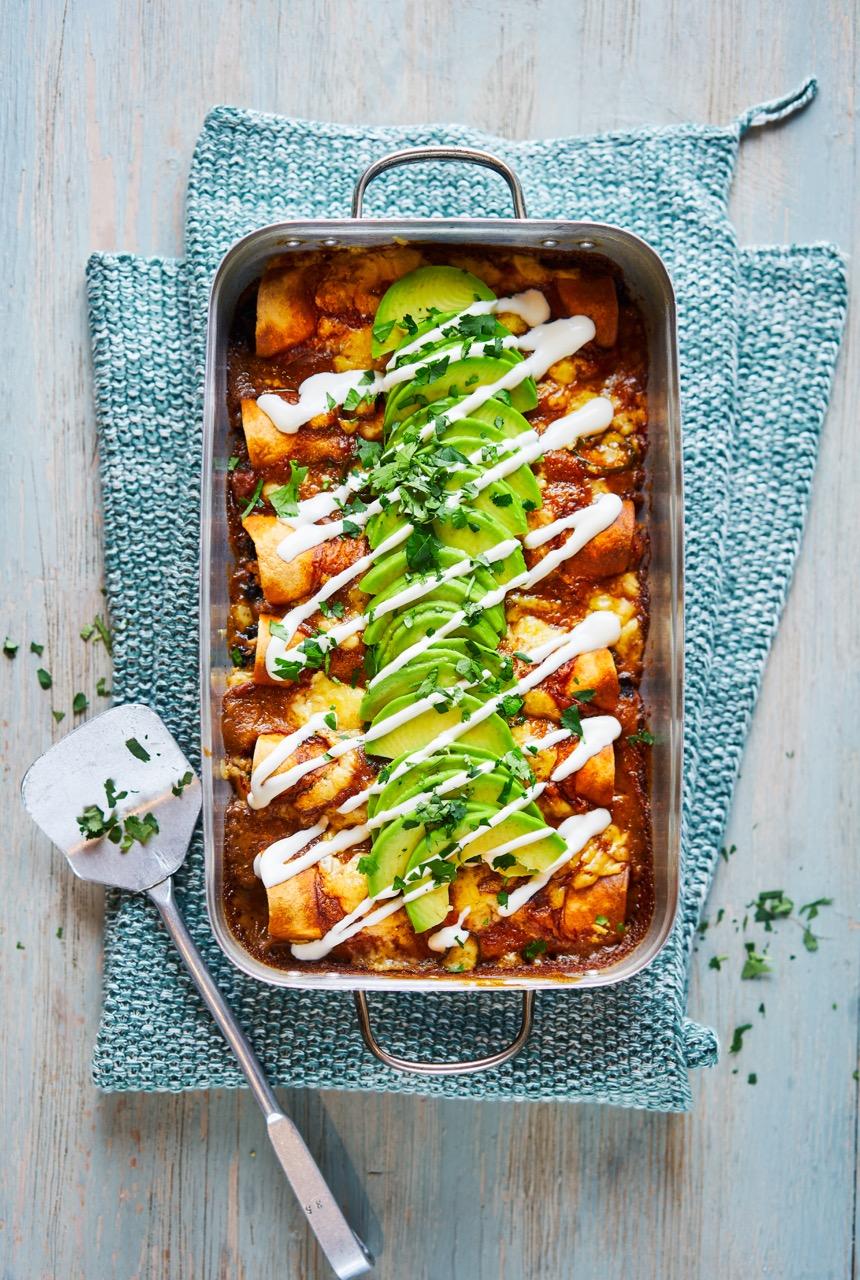 Classic Tex Mex Enchiladas